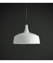 Lámpara colgante Ø 45 cm dos acabados y fuentes de luz LED/E27 – Aura – Luzfin