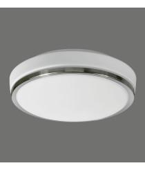 Aplique de techo LED para el baño con cristal doble capa IP44 - Lina - ACB Iluminación