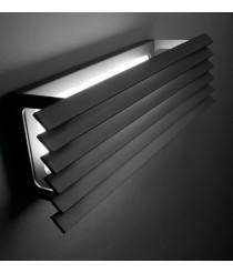 Aplique de pared LED para exterior IP 55 horizontal en 2 colores - Lineana H – Bover