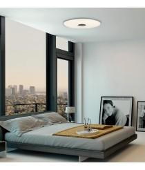 Aplique de techo LED de metal y cristal en 2 tamaños 3200K - Live - ACB Iluminación