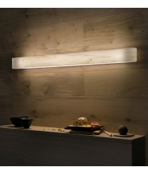 Aplique de pared de madera natural en 11 colores regulable Led control remoto - I Club Slim - LZF