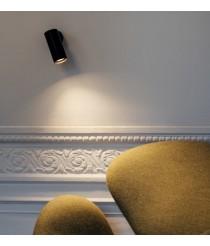 Foco de techo y pared LED en 2 acabados y 2 fuentes de luz orientable y regulable – Haul – Milan