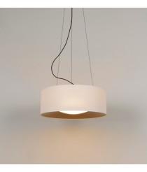 Lámpara colgante de acero en 2 acabados regulable en altura – Lid – Milan