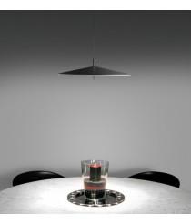 Lámpara colgante de acero LED en 2 acabados regulable 2700K – Pla – Milan