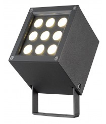 IP65 LED outdoor floodlight 3000K - Barni - Dopo - Novolux