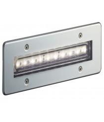 Empotrable de exterior de acero inoxidable IP68 LED 3000K - Syna - Dopo - Novolux