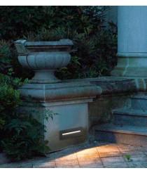 Lámpara empotrable LED para exterior IP65 - Amberes Dopo - Novolux
