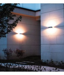 Aplique de pared de exterior IP54 LED 3000K - Rhin - Dopo - Novolux