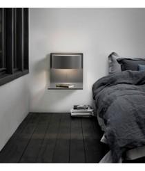 Aplique de pared de madera y metacrilato LED en 4 acabados 3000K – Lamparella – Plussmi