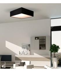 Plafón de techo cotton cuadrado en 3 colores y medidas - Plafones - IDP Lampshades