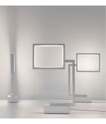 Lámpara de mesa LED de acero disponible en varios acabados – Wally – Pujol Iluminación