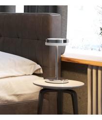 Lámpara de sobremesa LED circular varios acabados – Circular – Pujol Iluminación
