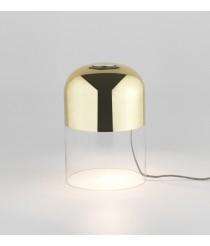 Lámpara de mesa de cristal acabado oro brillo – Coko – Aromas