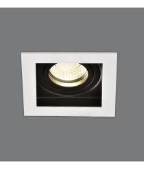 Empotrable de techo de metal blanco 2luces - San - ACB Iluminación