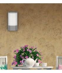 Aplique de pared exterior de aluminio y acrílico IP 54 - Saudo - ACB Iluminación