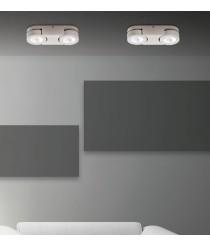 Aplique de techo LED de metal basculante y rotatorio 3000K - Sawa - ACB Iluminación