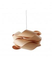 Lámpara colgante de madera en haya natural 69 cm - Link - Lzf - Disponibilidad inmediata