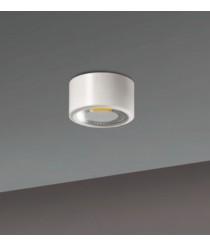 Aplique de techo LED de aluminio en 2 acabados y 2 tamaños 3200K - Studio - ACB Iluminación