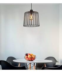 Lámpara de techo en metal negro Ø 32 cm - Tao - ACB Iluminación