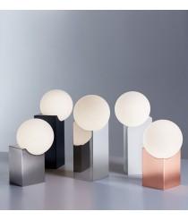 Lámpara de mesa moderna en 2 tamaños y 5 colores - Cub - Pujol Iluminación