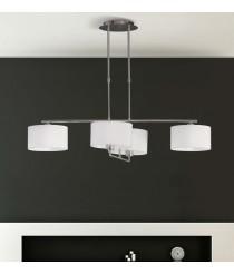 Lámpara colgante con 4 luces regulables - Volta - ACB Iluminación