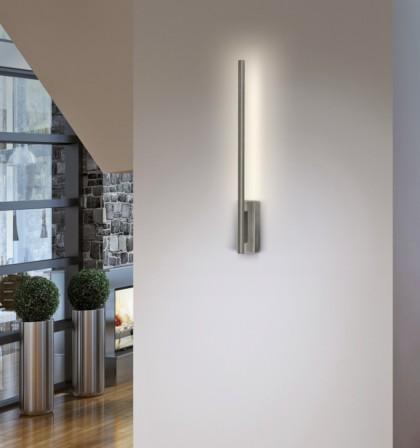 Aplique de pared LED de metal en 2 acabados 3200K – Leya – ACB Iluminación