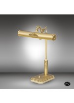 Classic table lamp for desk in 2 finishes and 2 lights - Sobremesas 031S - Riperlamp
