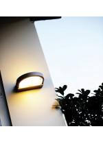 Outdoor wall light – Dark Dopo – Novolux