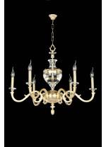 Transparent Acrilic Chandelier 6 Lights