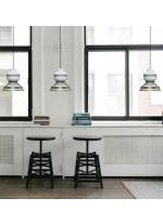 Lámpara colgante de cerámica y latón – Zen – MYO