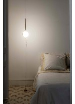 Pendant lamp and floor lamp with gold finish - Le Vita – Faro