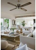 Reversible ceiling fan without light - Samoa - Massmi