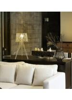 White steel table lamp 60 cm - Tess - Exo - Novolux