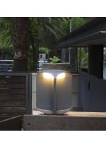 Dark grey LED beacon with owl eyes two sizes - Bu-Oh – Faro