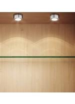 LED surface light fitting for furniture in 4 finishes - Ibiza - Indeluz - Novolux
