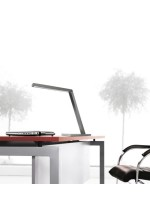 LED table lamp with adjustable shade in 2 colours - Clau - Pujol Iluminación