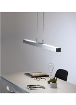 Energy saving pendant available in two finishes and light sources - Apollo - Pujol Lighting