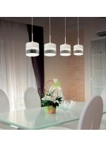 LED aluminium pendant lamp in linear format 3200K - Austral - ACB Iluminación