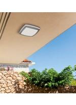Outdoor aluminium and acrylic ceiling lamp IP 54 Ø 30 cm - Dalia - ACB Iluminación