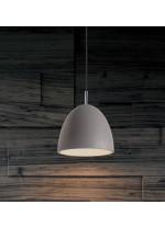 Gray cement pendant lamp Ø 30 cm - Enon - ACB Iluminación
