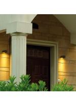 IP54 LED outdoor wall light 3000K - Cairo - Dopo - Novolux