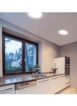 IP 44 LED ceiling light 3000/4000K - Carme - Indeluz - Novolux