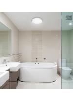 IP44 Bathroom steel ceiling light - Carpi - Exo - Novolux
