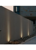 IP65 RGB LED aluminum outdoor wall and ceiling light - Donisi - Dopo - Novolux