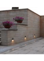 IP54 LED outdoor wall lamp - Ferrera - Dopo - Novolux