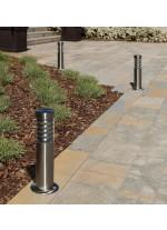 IP44 inox steel outdoor bollard light - Galerna - Dopo - Novolux