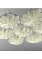 Lámpara colgante LED de pergacol Ø 100 cm 3000K - Flo - El Torrent