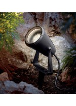 IP65 black outdoor floodlight - Geronimo - Dopo - Novolux