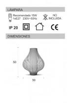 Onion. Table Lamp
