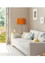 Table lamp with wool shade available in 7 finishes – Lana – IDP Lampshades